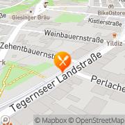 Karte Ristorante Cenacolo L & L Restaurant Betriebe GmbH München, Deutschland