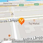 Karta Indisk Restaurang Taj Mahal Göteborg, Sverige