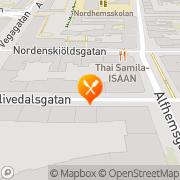 Karta Sushi m.m. Göteborg, Sverige