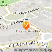 Karta Thörnströms Kök Göteborg, Sverige