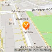 Karta Cyrano Göteborg, Sverige