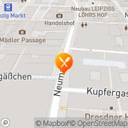Karte Restaurant Kaiser Maximilian Leipzig, Deutschland