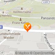Karte Gasthaus Burg Heimfels Heinfels, Österreich
