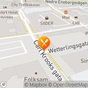 Karta Restaurang Rödbetan AB Helsingborg, Sverige