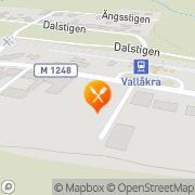 Karta Vallåkras Pizzeria Vallåkra, Sverige