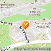 Karte Dirk Gust Gastronomie GmbH Chemnitz, Deutschland