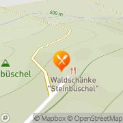 Karte Waldschänke Steinbüschel Ehrenfriedersdorf, Deutschland