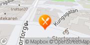 Karta Stortorget Herkules. Restaurang, Bar, klubb, festlokal & after work Lund, Sverige