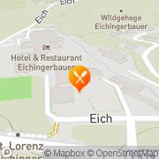 Karte Aichingerwirt Sankt Lorenz, Österreich