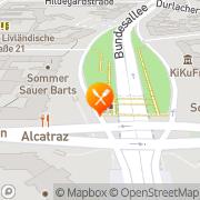 Map Alcatraz Berlin, Germany