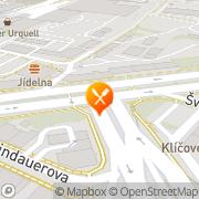 Map Na Spilce Starý Plzenec, Czech Republic