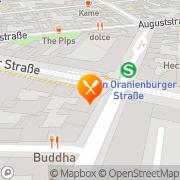 Karte Details Berlin, Deutschland