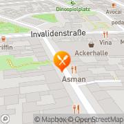 Karte Asman Berlin, Deutschland