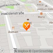 """Karte Indisches Restaurant""""Asman Berlin, Deutschland"""