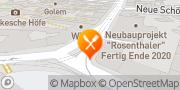 Karte Hackescher Hof Berlin, Deutschland