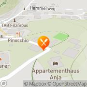 Karte Alpengasthaus Mandlinghof Fiakerwirt Filzmoos, Österreich