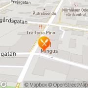 Karta Pizzeria och Restaurang Mingus Falköping, Sverige