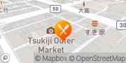 Map Sushi-Zanmai Tsukiji Revolving Sushi Bar Tokyo, Japan