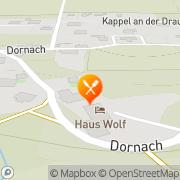 Karte Gasthaus Wolf Dornach, Österreich