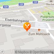 Karte Schindler Heuriger Linz, Österreich