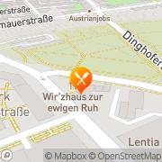 Karte Wirzhaus zur ewigen Ruh Linz, Österreich