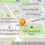 Karte Gasthaus im Landhaushof Klagenfurt, Österreich
