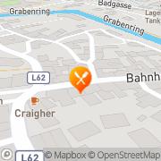 Karte Gasthof Zum Goldenen Anker Friesach, Österreich