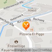 Karte Pizzeria El Piggo Brückl, Österreich