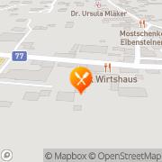 Karte K.U.K. Wirtshaus Weißkirchen in Steiermark, Österreich