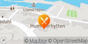 Kort Hummerhytten (Sebastian Frost) Svaneke, Danmark