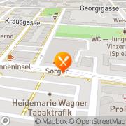 Karte Sorger Graz, Österreich