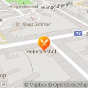 Karte Restaurant Heinrichhof Graz, Österreich