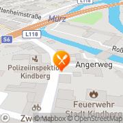 Karte Pizzeria Danieli Kindberg, Österreich