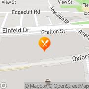 Map Sushi Connection Bondi Junction, Australia