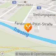 Karte Bar Monique Berndorf, Österreich