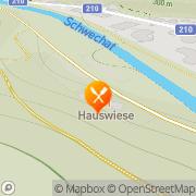 Karte Waldgasthaus - Servus Hauswiese - Familie Sietweis-Knebel Baden, Österreich