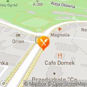 Map Tevere Malá Čermná, Czech Republic