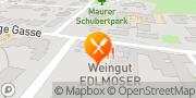 Karte Weinbau Edlmoser Wien, Österreich