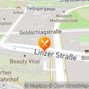 Karte Wirtshaus zum Merkur Wien, Österreich