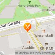 Karte Pizzeria Aladdin Wien, Österreich