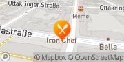 Karte Asia Restaurant Iron Chef Wien, Österreich