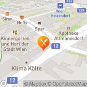 Karte Pizzeria Corner Wien, Österreich