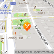 Karte KRITERIUM 1 Wien, Österreich