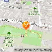 Karte Restaurant L'idea Wien, Österreich