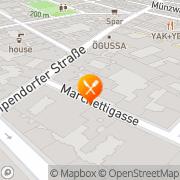 Karte Pizzeria Marchello Wien, Österreich