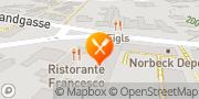 Karte Ristorante Francesco in Grinzing Wien, Österreich