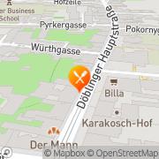 Karte Cafe-Restaurant Sammer Wien, Österreich
