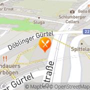 Karte Brandauer's Bierbögen Wien, Österreich