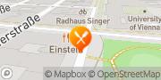Karte Cafe Einstein Wien, Österreich