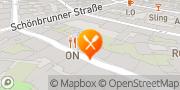 Karte Restaurant ON Wien, Österreich
